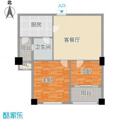 金领公寓68.88㎡K11面积6888m户型
