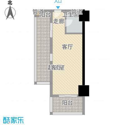 南湖公寓户型