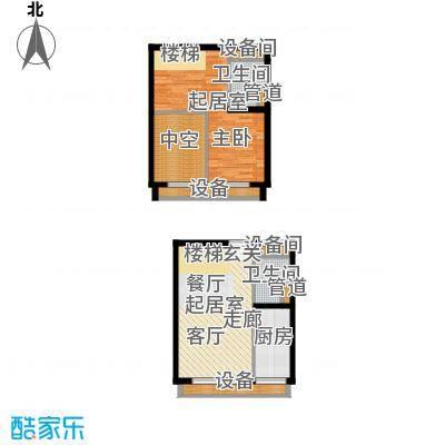 中弘北京像素C3a户型
