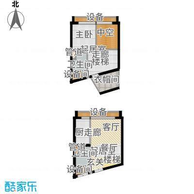 中弘北京像素F4户型
