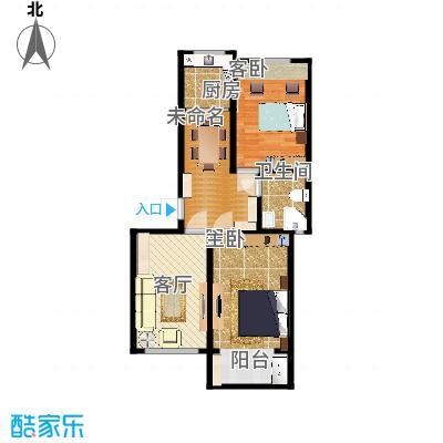 燕鑫花苑77.00㎡小高层2室2厅1卫