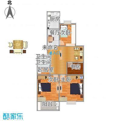 99.5方四室一厅