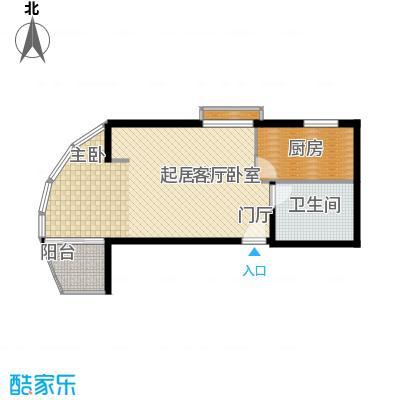 大上海城市花园65.00㎡面积6500m户型