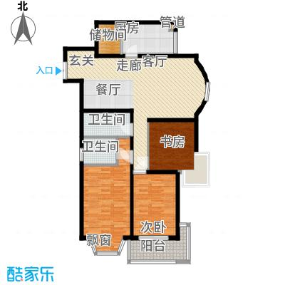 中福花苑青年汇102.00㎡面积10200m户型