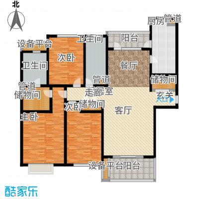 滨江名人苑218.00㎡面积21800m户型