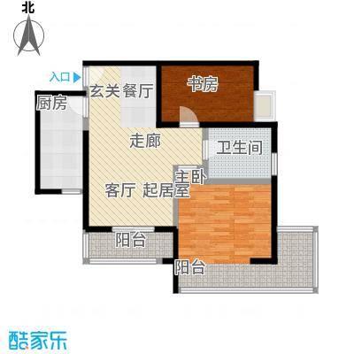 中兴财富国际公寓户型