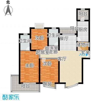 滨江名人苑155.00㎡面积15500m户型
