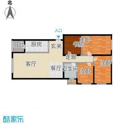 保利金泉4号楼2-03户型