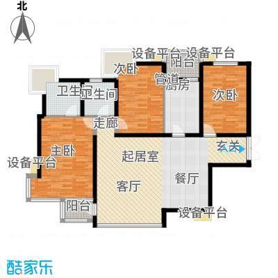 百旺茉莉园CB1(左多层)户型