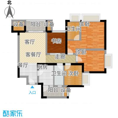 东源香郡D1户型