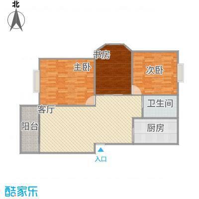 宝驰景秀苑102平米三室一厅