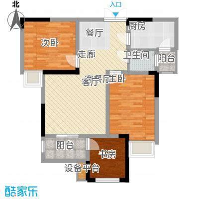 泽胜温泉城阔景小高层18+1B户型