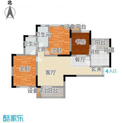 泽胜温泉城阔景小高层18+1A户型