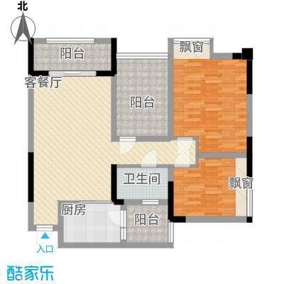 泽胜中央广场5号楼户型