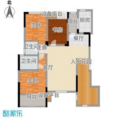 泽胜温泉城花园洋房7+1D户型