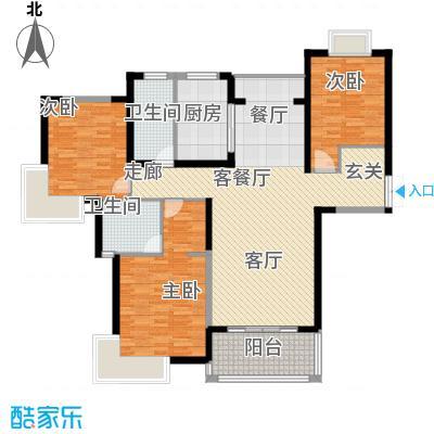 星河世纪城138.94㎡上海(星月蓝湾)户面积13894m户型