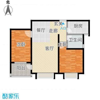 路易凯旋宫98.48㎡上海面积9848m户型