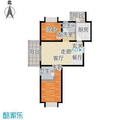 路易凯旋宫101.53㎡上海面积10153m户型