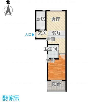 路易凯旋宫69.26㎡上海面积6926m户型