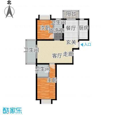 路易凯旋宫118.39㎡上海面积11839m户型