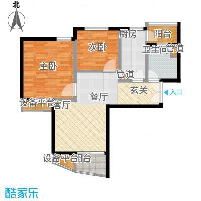 新梅淞南苑71.00㎡上海面积7100m户型