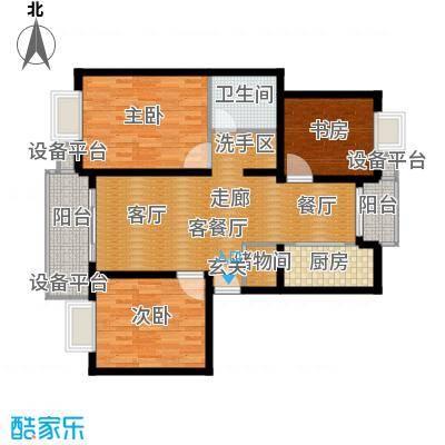 浦江世博家园十一街坊101.00㎡面积10100m户型