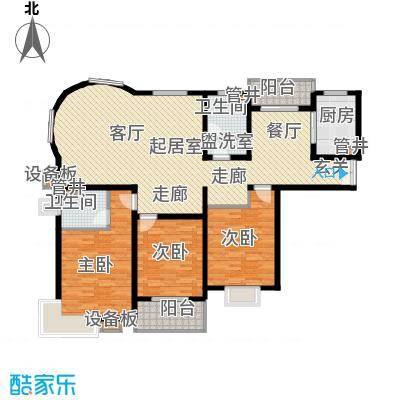 浦江茗园150.00㎡面积15000m户型