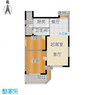 大华锦绣华城第14街区118.00㎡户面积11800m户型