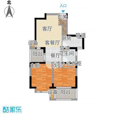 大华锦绣华城第14街区89.00㎡14面积8900m户型