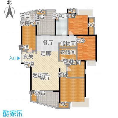 慧芝湖花园二期173.00㎡嘉宁荟4面积17300m户型