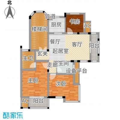 保利金色唐城106.00㎡房型I2面积10600m户型