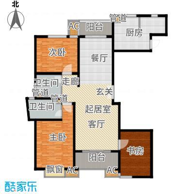 虹口现代公寓200.00㎡面积20000m户型