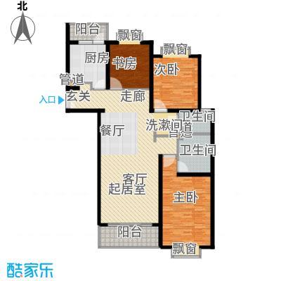 虹口现代公寓135.00㎡面积13500m户型