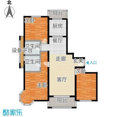 绿地崴廉公寓二期上海户型