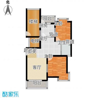 中鼎豪园95.64㎡E面积9564m户型