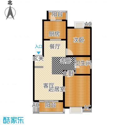 恒大华城天地苑91.60㎡上海面积9160m户型