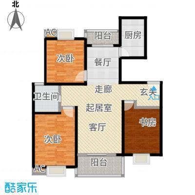 恒大华城天地苑112.56㎡上海面积11256m户型