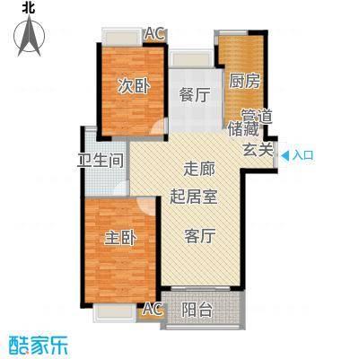 舒诗康庭105.50㎡上海面积10550m户型