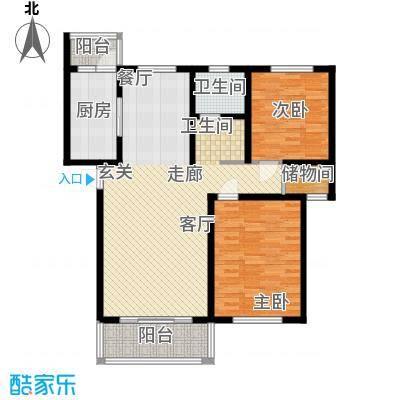 贝越高行馨苑102.57㎡上海面积10257m户型