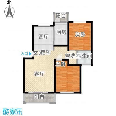 贝越高行馨苑99.27㎡上海面积9927m户型