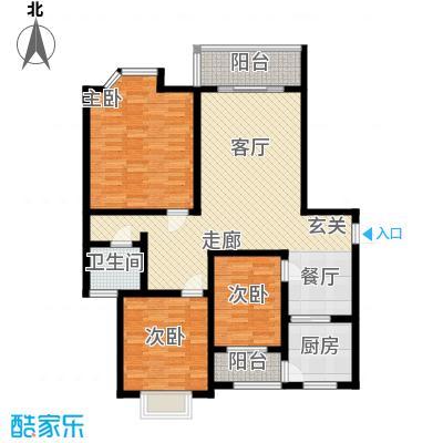 莘闵荣顺苑119.22㎡上海面积11922m户型