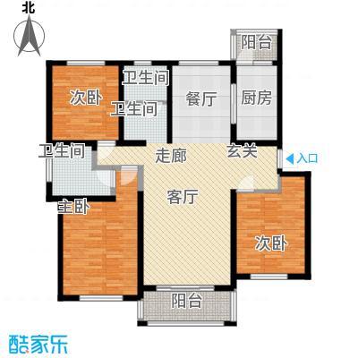 贝越高行馨苑124.92㎡上海面积12492m户型