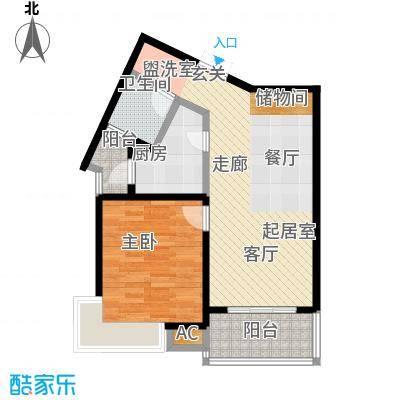 舒诗康庭67.50㎡上海面积6750m户型