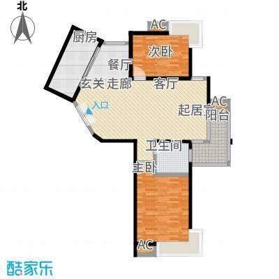 舒诗康庭95.50㎡上海面积9550m户型