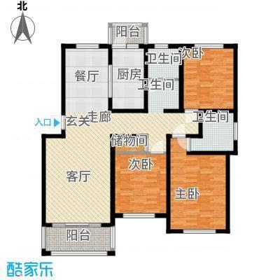 贝越高行馨苑125.78㎡上海面积12578m户型