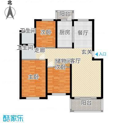 贝越高行馨苑117.43㎡上海面积11743m户型
