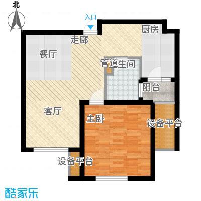 莘闵荣顺苑71.00㎡2面积7100m户型