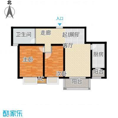 好世鹿鸣苑102.04㎡上海面积10204m户型