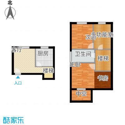 久阳文华府邸88.00㎡上海D面积8800m户型