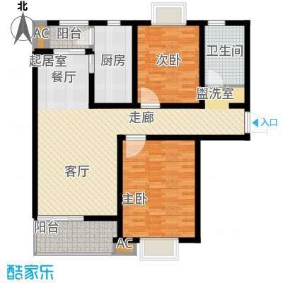 好世鹿鸣苑97.14㎡上海面积9714m户型